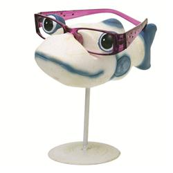 Blue Fishymoorf Eye Glass Holder
