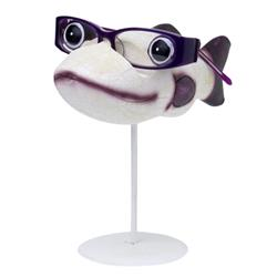 Purple Fishymoorf Eye Glass Holder