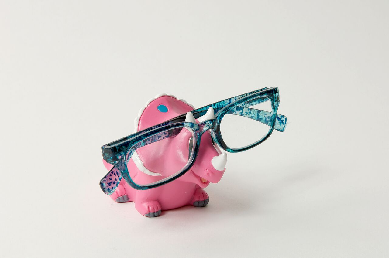 Triceratops Moorf Eye Glass Holder