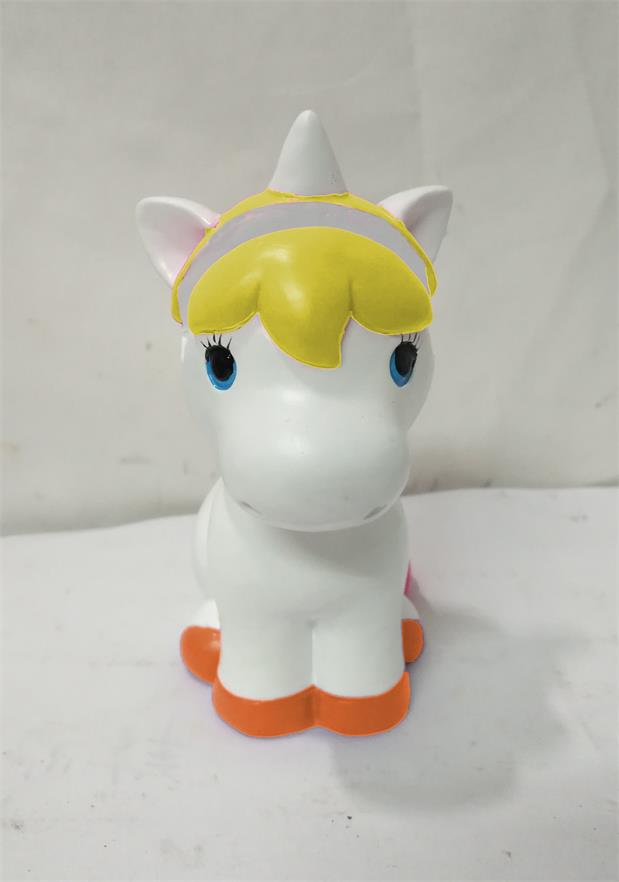 Unicorn Yellow and White Eye Glass Holder