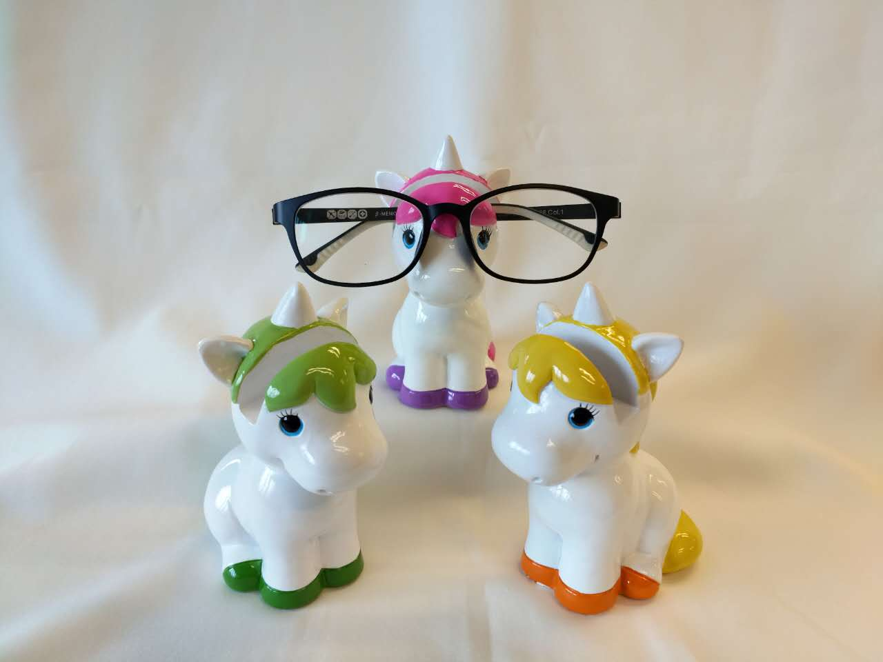 Unicorn Eye Glass Holders - Set of 3